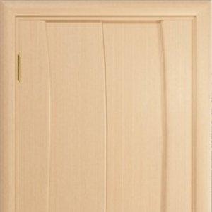 Межкомнатная дверь Арт Деко Вэла арт белёный дуб глухая