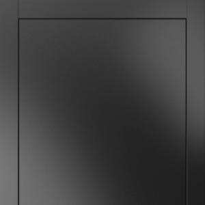 Межкомнатная дверь Волховец Linea 8041 МЧР.  Матовый черный