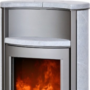 Печь-камин ABX Pori 5 тальк с верхней плитой