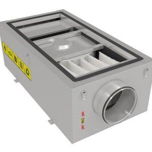 Приточные установки с электрическим нагревом Shuft CAU 2000/1-W VIM