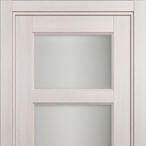 Межкомнатная дверь Status Classic 542 Белое сатинато Ясень